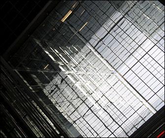 Atrium, CalTrans Building