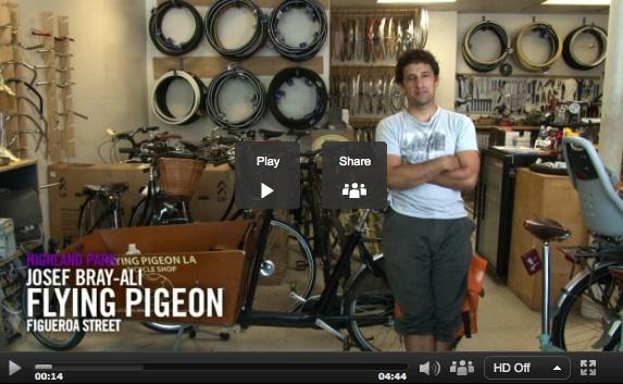 Josef Bray-Ali of Flying Pigeon LA on KCET Departures