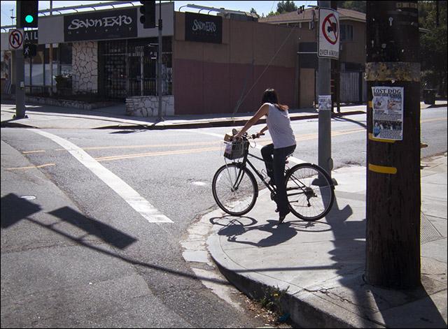 Everyday rider in NE Los Angeles